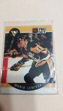 1990 - 1991 Pro Set Mario Lemieux Pittsburgh Penguins #236 Hockey Card