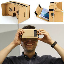 Google Cardboard Valencia Quality 3D VR Virtual Reality Glasses For Smart Phone