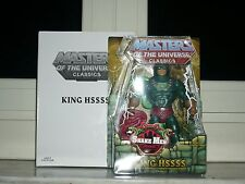 KING HSSSS HISS MOTUC MASTERS OF THE UNIVERSE CLASSIC MOTU NO FISTO HE-MAN FILMA