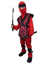 Costumi e travestimenti rosso vestiti in poliestere per carnevale e teatro per bambini e ragazzi