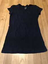 Jcp Jcpenney's Black Women's V-Neck Top Small