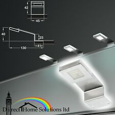 Loox Compatible LED Flat Cornice Light Downlight 12V, 130 x 45 x 40mm Rated IP20