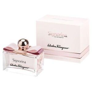 Signorina By Salvatore Ferragamo 3.3 / 3.4 Oz EDP Spray NIB Sealed Perfume Women
