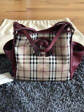 Burberry Canterbury Check Tote with Tassel