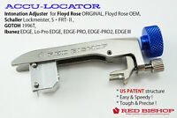 RED BISHOP ACCU-LOCATOR / Intonation Adjuster for Floyd Rose etc