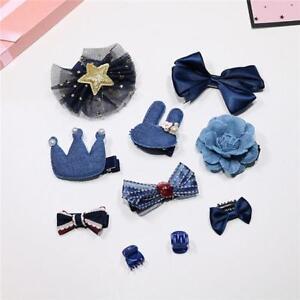 10pcs Girl Hair Pin Jewelry Sets Children Hair Accessories Fashion Gifts Cute WL