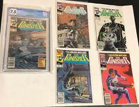 PUNISHER Marvel 10pc lot Punisher 1 2 4 10 Limited series 1-5 Punisher 1 2099