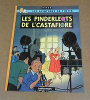 HERGE - TINTIN - LES BIJOUX DE LA CASTAFIORE - EN PICARD TOURNAISIEN ( TTBE )