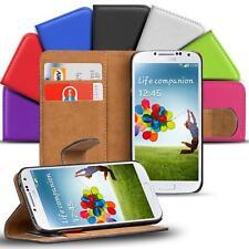 Samsung Galaxy S4 Handy Klapp Tasche Schutz Hülle Book Flip Cover Case Slim Etui