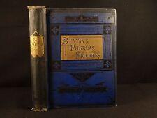 1880 John Bunyan Pilgrim's Progress Puritan Illustrated Christian Heaven CLASSIC