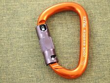 Rock Exotica Pirate Auto-Lock Carabiner TREE Climbing Rigging Highrise Rescue