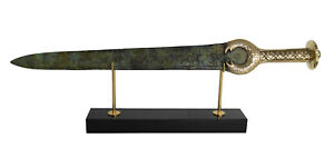 King Agamemnon Bronze Sword - Ancient Greek Hero of Trojan war - Homer iliad