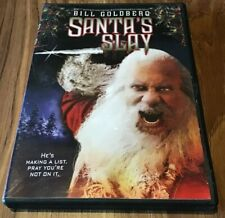 Santas Slay (DVD, 2005) Bill Goldberg Horror Rare OOP Slasher Widescreen