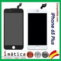 PANTALLA LCD IPHONE 6S+ PLUS COLOR NEGRO BLANCO COMPLETA LCD + TACTIL 5.5 5,5