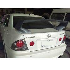 Unpainted Trunk Spoiler Wing For Lexus IS200 IS300 4DR 1998-2005 Sedan abs