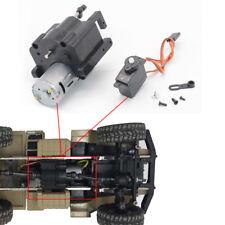 Split Transfer boîte de vitesses 370 moteur+servo pour WPL B14 B24 C14 1/16 RC