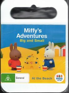 MIFFY'S ADVENTURES Big And Small DVD At The Beach NEW & SEALED Free Post
