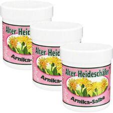 (33,30€/l) 3x Alter Heideschäfer Arnika Salbe 100 ml - für beanspruchte Haut!