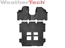 WeatherTech DigitalFit FloorLiner for Honda Odyssey - 2011-2017 - Black