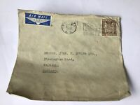 New Zealand 1952 stamp cover Ref R28598