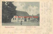 Germany, Priorau, Posthilfstelle R. Spiess, Gruss aus, C. Kurbis 1901