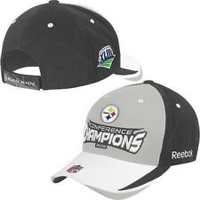Pittsburgh Steelers Reebok NFL Conference Champions Adjustable Cap Hat f4220e672