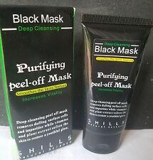 2 Pcs! Shills Purifying Black Peel-off Mask Facial Cleansing Blackhead Remover