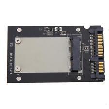 """Mini PCI-E mSATA SSD to 2.5"""" SATA Convertor mSATA-SATA Adapter Card Board Module"""