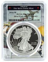 2016 W Silver Eagle Proof  PCGS PR69 DCAM  - West Point Frame