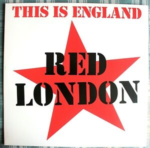 RED LONDON This Is England LP Mad Butcher MBC 137 MINT 2021 Germany OI PUNK