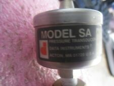Data Instruments / Honeywell Model: SA Pressure Transducer.  PN: 9302419 <