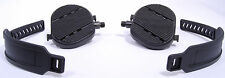 WELLGO EX-13 EXERCISE BIKE PEDALS W/STRAPS,STATIONARY