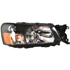 For Forester 03-04, Passenger Side Headlight, Clear Lens