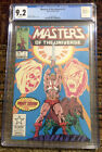 Masters of the Universe #1 CGC 9.2 (1986) First Marvel Series He man Star Comics