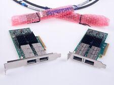 HP 544QSFP MCX354A-FCBT 649281-B21 656089-001 VPI FDR 40GbE Mellanox OEMFirmware
