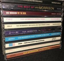 VAN MORRISON Collection • Astral Weeks Best Of Tupelo Honey Them Moondance MORE!