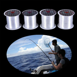 crystal Strong Fish Wire Fishing Lines Nylon Braided Thread Monofilament
