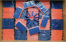 200 pcs Kids Toy For NERF N-Strike Gun Bullet Darts Round Head Blue Blasters