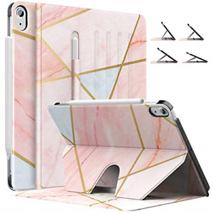 MoKo Case Fit iPad Air 4th Generation 2020 - New iPad Air 4 Case with Pencil 2