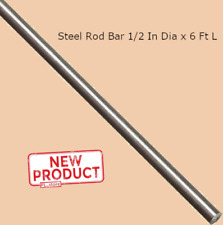 "1//2/"" Diameter x 15 and 1//2/"" Long Stainless Steel Rod  Grade 304 Round"