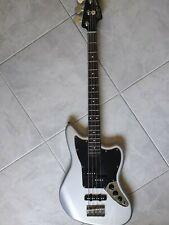 Fender Squier Basso Elettrico Vintage Modified JaguarSpecial SS IL Silver