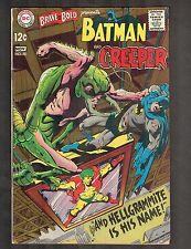 Brave and the Bold #80 ~  Batman vs Hellgrammite ~ 1968 (4.0) WH