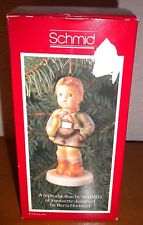 Schmidt Vintage Christmas Tree Ornament Hark the Herald by Berta Hummel