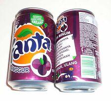 FANTA Can MALAYSIA 330ml GRAPE ANNGUR Flavour  Coca Cola 2011 Asia NEW PROMOTION