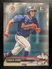 🔥💎 RONALD ACUNA JR 2017 Bowman Baseball 1ST BOWMAN RC #BP127 Atlanta Braves