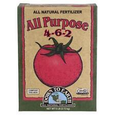 Down To Earth All Purpose 4-6-2 All Natural Fertilizer - OMRI - 5 lb