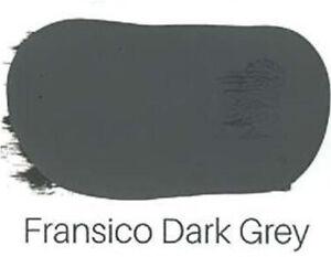 Chalk Paint Francisco Grey Coastal Bohemian Rustic Vintage Furniture Paint