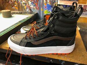 Vans Sk8-Hi Boot MTE 2 Black Spicy Orange Size US 7.5 Men (9 Women)  New Rare