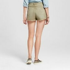 NWT MOSSIMO WOMEN'S HIGH RISE CORDUROY SHORTS, SZ 4. EXCELLENT CONDITION!