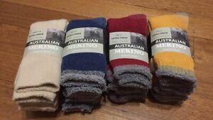 3 Pair  Size 6-10  AUSTRALIAN MERINO WOOL L HEAVY DUTY EXTRA THICK WORK SOCKS